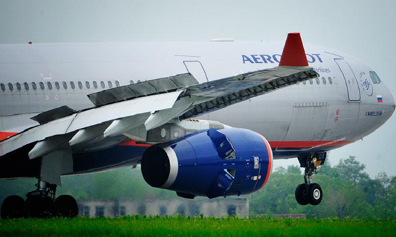 Экстренная посадка самолета «Аэрофлота» произошла в Казани