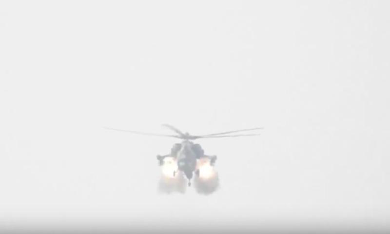 Террористы сняли видео встречи с «Ночным охотником» в Сирии