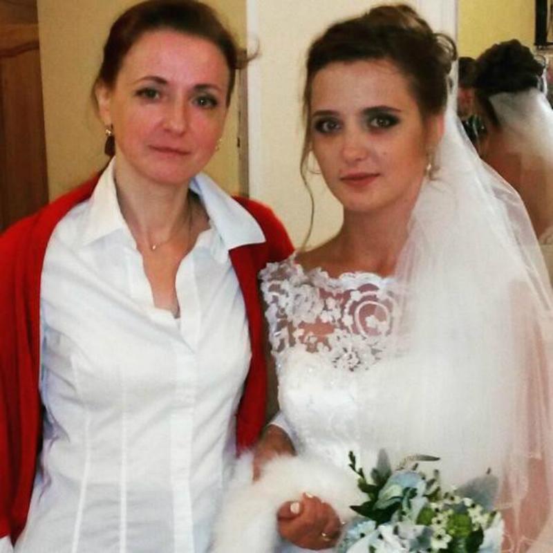 Наталья Краско с невесткой мужа