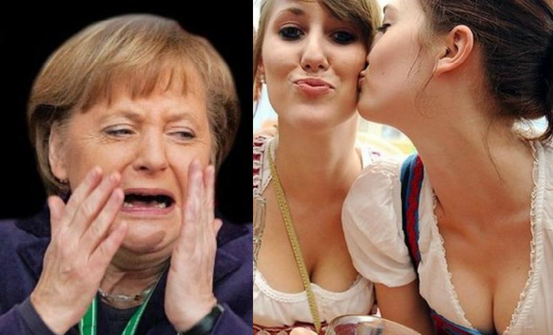 Ангела Меркель сдалась под натиском гомосексуалистов