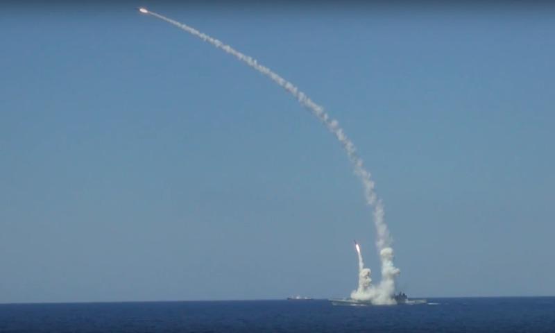 Фрегаты и подлодка ВМФ России выпустили шесть «Калибров» по боевикам ИГ в Сирии