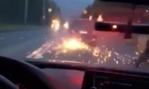 «Коля, жми!» - погоня полиции за наркоторговцами в Петербурге попала на видео