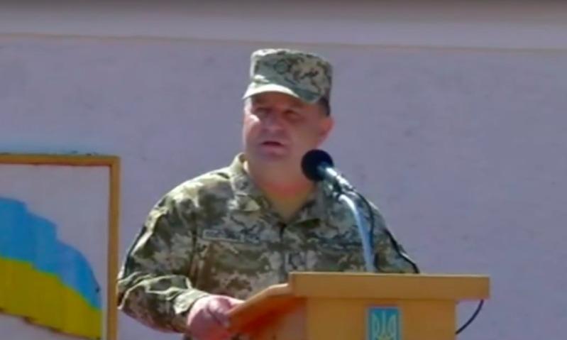 Агрессор Россия по-прежнему хочет напасть на Украину и захватить ее, - министр обороны Полторак