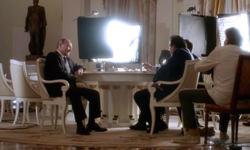 Путин рассказал Стоуну о помощи спецслужб США боевикам Северного Кавказа