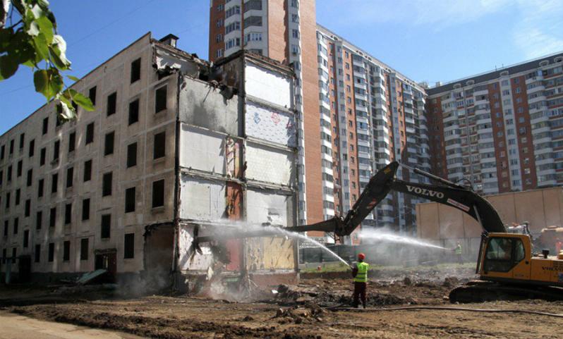В мэрии Москвы рассказали, сколько пятиэтажек отказались от реновации