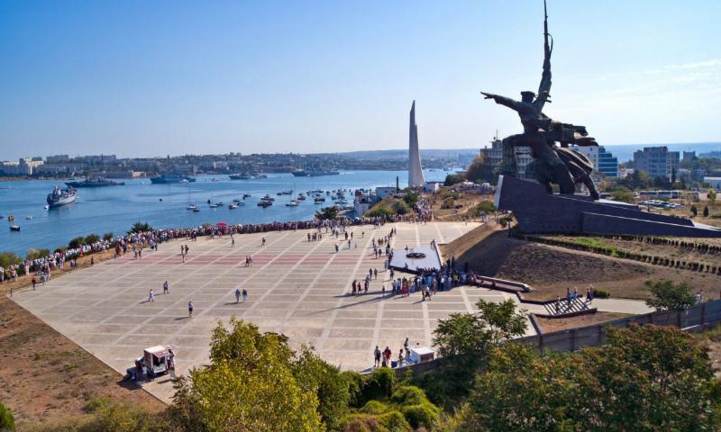 Британская газета The Daily Mail «признала» Крым территорией России
