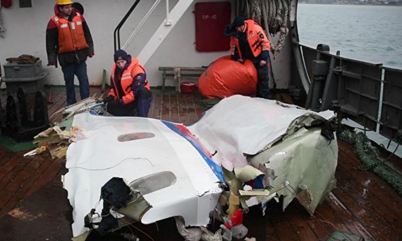 Минобороны сообщило об окончательных результатах расследования крушения Ту-154 под Сочи