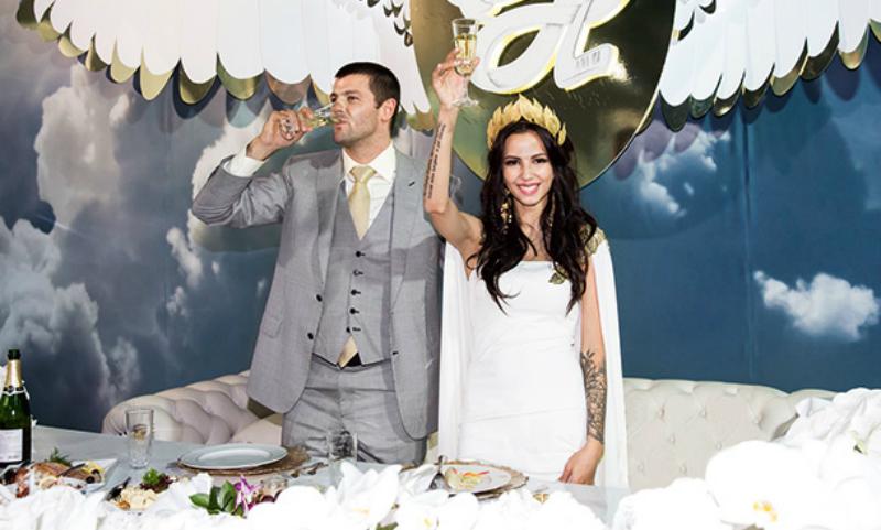 Гимнастка Дмитриева развелась с хоккеистом Радуловым через год после шикарной свадьбы