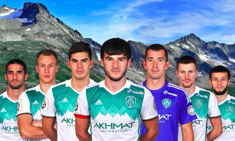 ВЧечне начался флешмоб против переименования футбольного клуба «Терек» в«Ахмат»