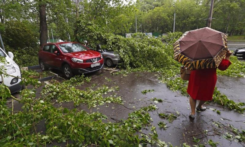 В «Росгосстрахе» назвали полную сумму ущерба от смертельного урагана в столице и Подмосковье