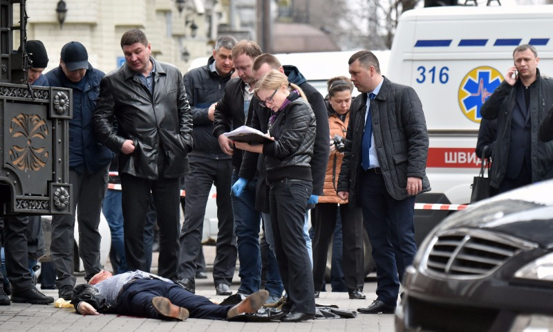 Подозреваемых по делу об убийстве Вороненкова полиция задержала в Днепропетровской области