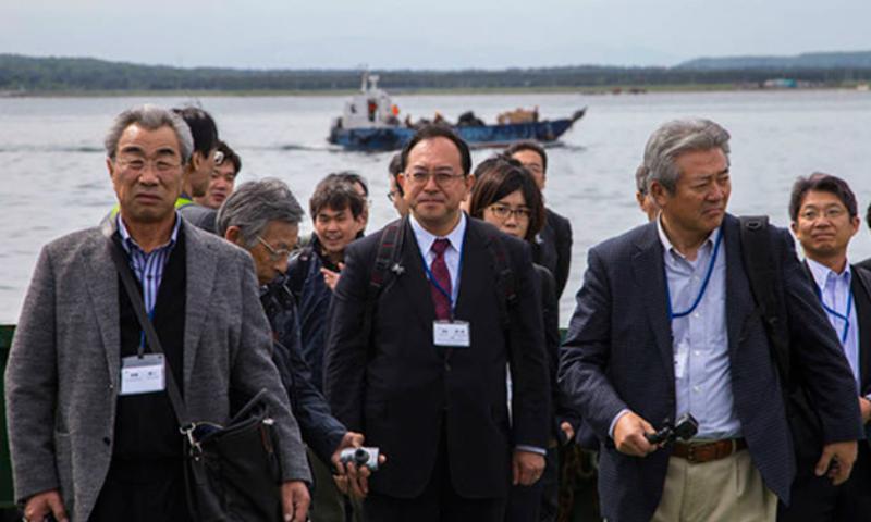 Бизнес-делегация из Японии впервые прибыла на Курилы для обсуждения потенциального сотрудничества