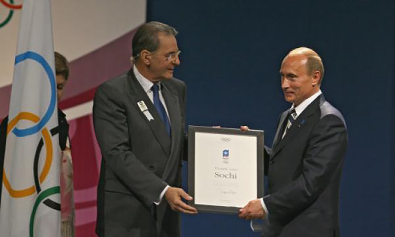 Календарь: 4 июля - 10 лет назад Сочи был выбран столицей зимней Олимпиады-2014