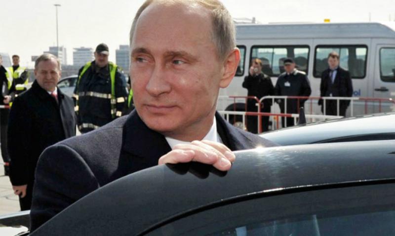 Путин протестировал суперлимузин