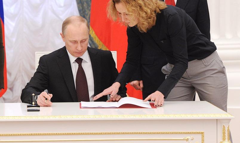 Президент России снизил дефицит бюджета и инфляцию