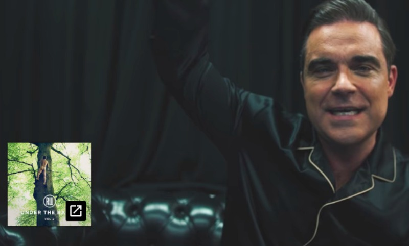 Робби Уильямс решил «продвинуть» новый альбом голыми ягодицами