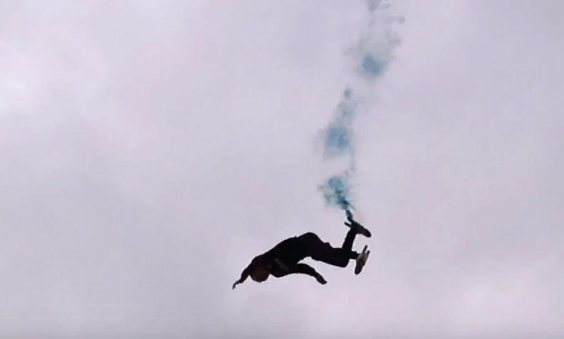 Парень упал с 45 метров под овации в Екатеринбурге