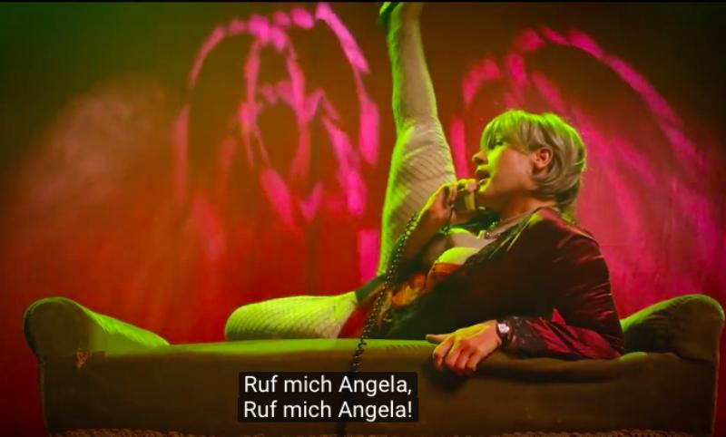 Эротическую видеопародию на Ангелу Меркель снял комик из Словении