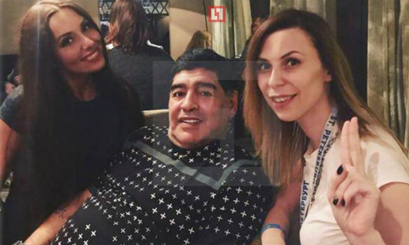 Мировую звезду футбола Диего Марадону обвиняют впопытке изнасилования