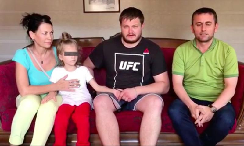 В Россию вернули девочку, которую хотели из Турции вывезти в Сирию