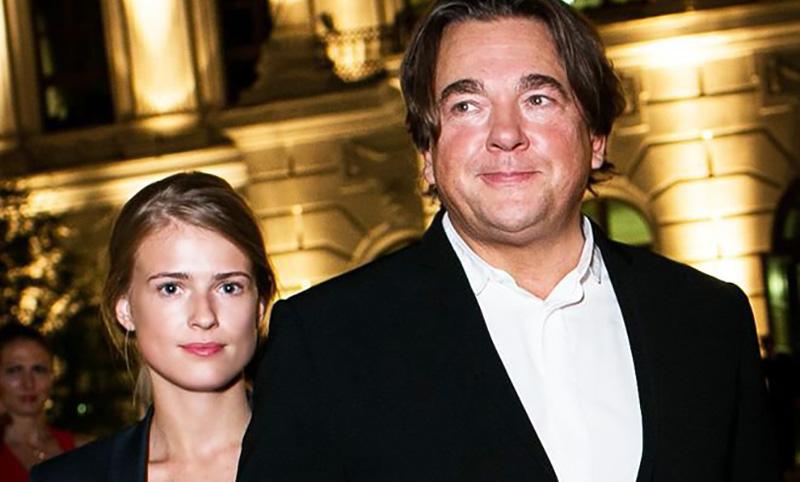 56-летний Константин Эрнст женился на 29-летней актрисе