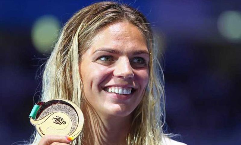 Российские пловцы выиграли три золота за один день на ЧМ