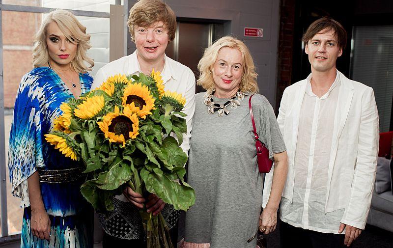 Юлия и Андрей с супругами - Мариной и Андреем.
