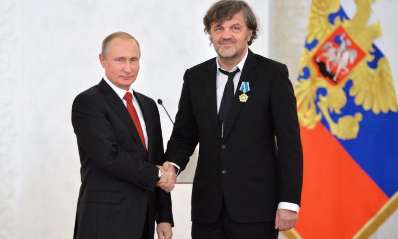 Кустурица рассказал, почему он восхищается Путиным