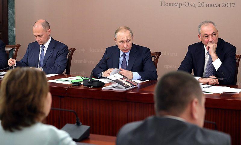 Путин рассказал о том, что есть естественный духовный каркас России