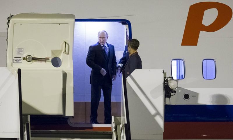 Путин прибыл в Гамбург для участия в саммите