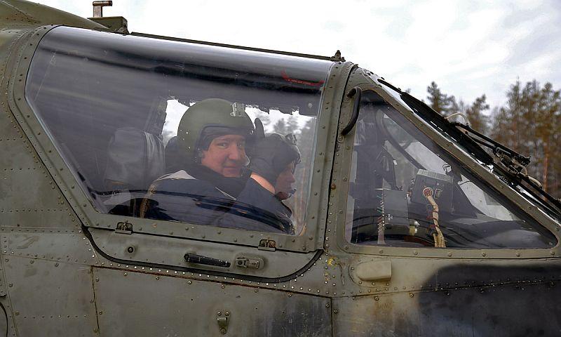 Вертолет или мотоцикл?: Рогозин собрался в Молдавию