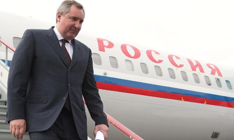 Самолет с Рогозиным из-за Румынии вместо Кишинева полетел в Минск