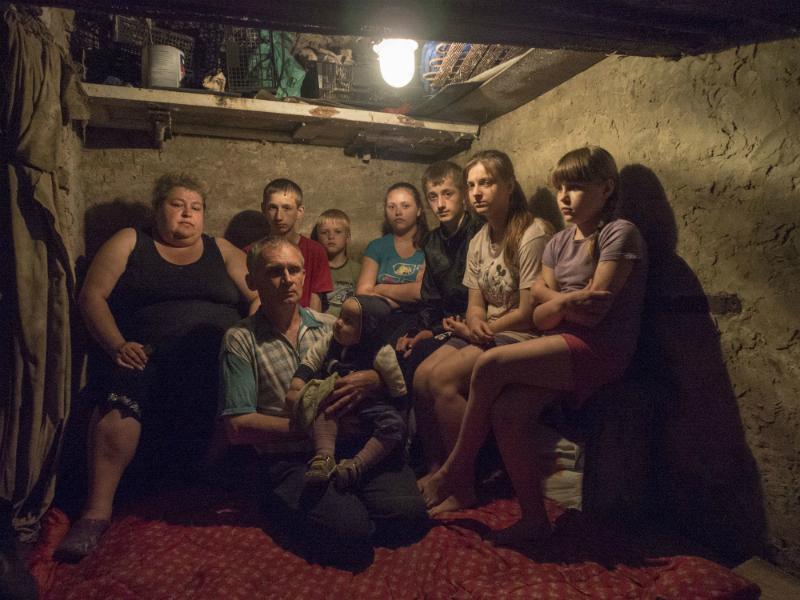 Фото Андреа Роккелли, сделанное в Донбассе