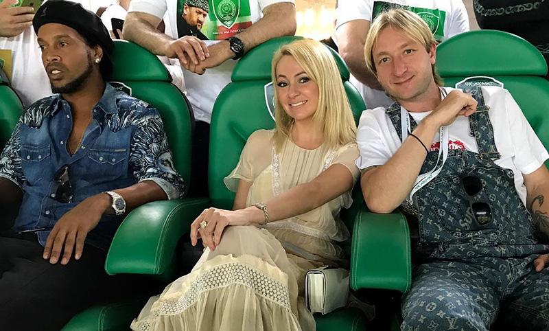 Плющенко и Рудковскую обругали за странный вид
