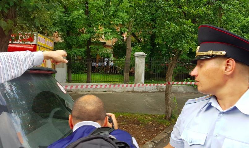 Полиция искала бомбу в штабе Навального в Новосибирске
