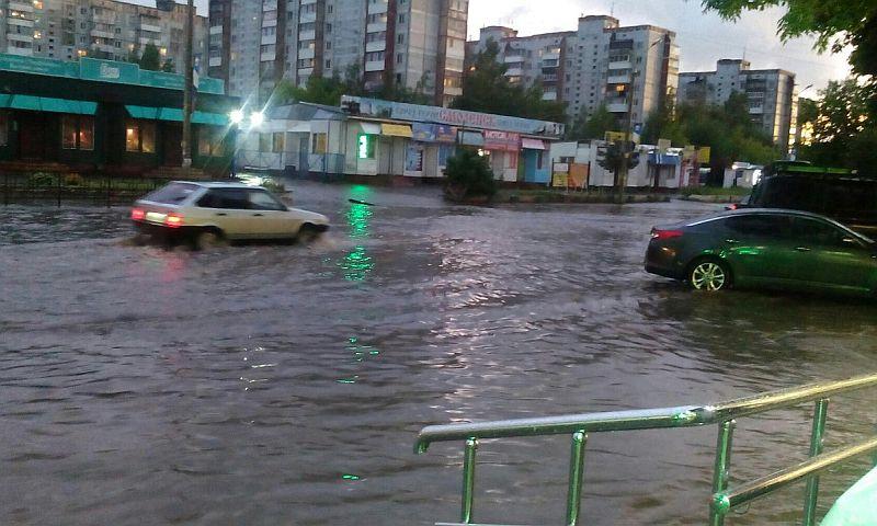 В Центральную Россию из Украины пришел опасный южный циклон