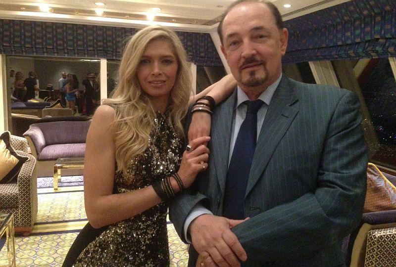 Артем Тарасов с Верой Брежневой.