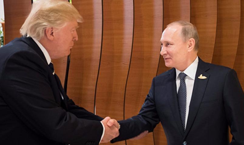 Рады видеть и познакомиться: Путин встретился с Трампом