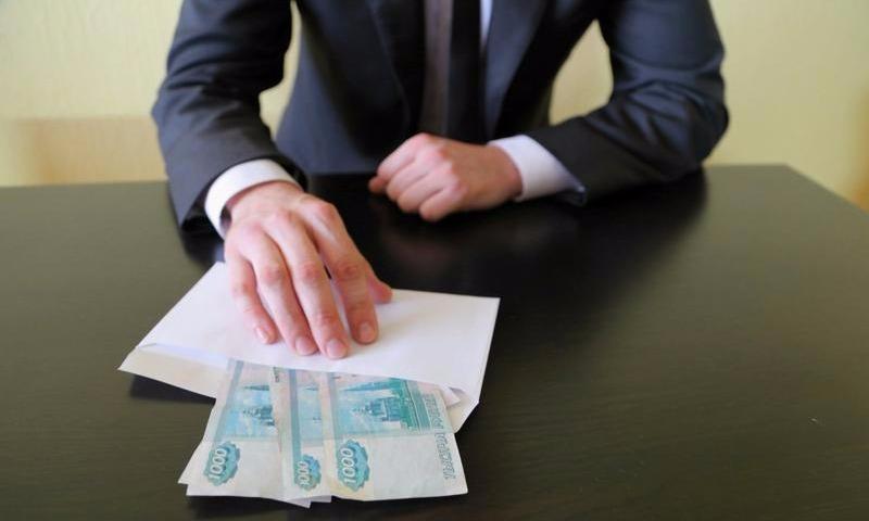 МВД подсчитало среднюю сумму взятки в столице
