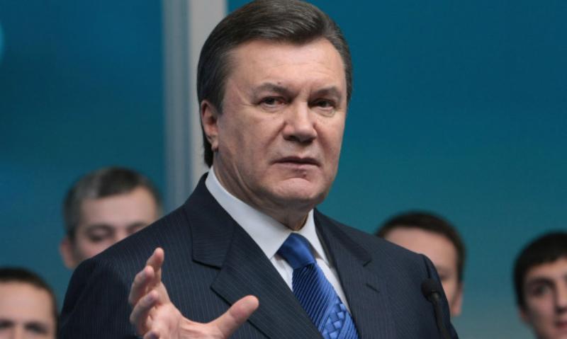 Янукович отказался принимать участие в суде над ним по делу о госизмене