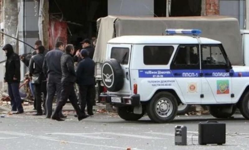 Опубликовано видео с места убийства полицейского в Дагестане