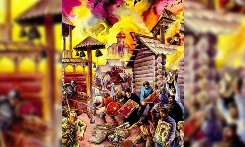 Календарь: 26 августа - Коварный Тохтамыш сжег Москву