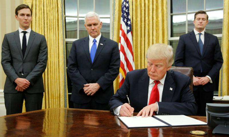 Дональд Трамп разрешил ввести новые санкции против России