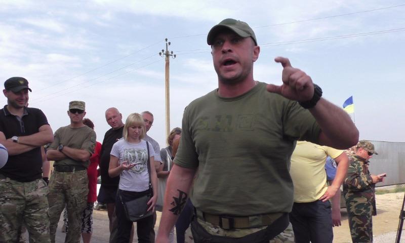 Экс-советник МДВ Украины пригрозил расстрелять депутатов, встречающихся с Саакашвили
