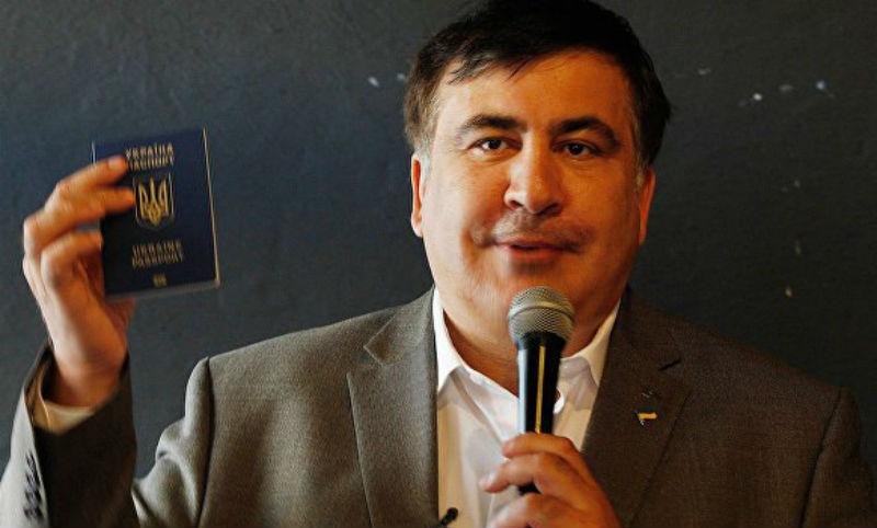 Саакашвили отказался от паспорта Литвы и «перевел стрелки» на главу МИД Украины