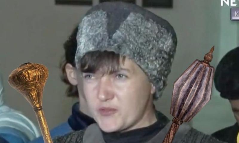 «Гетманше» Савченко в соцсетях указали на незнание истории
