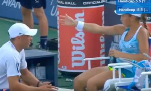 Казахстанская теннисистка наорала на тренера за то, что