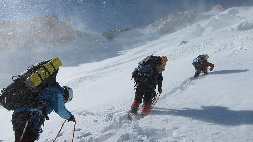 Пятеро туристов погибли в Альпах при восхождении