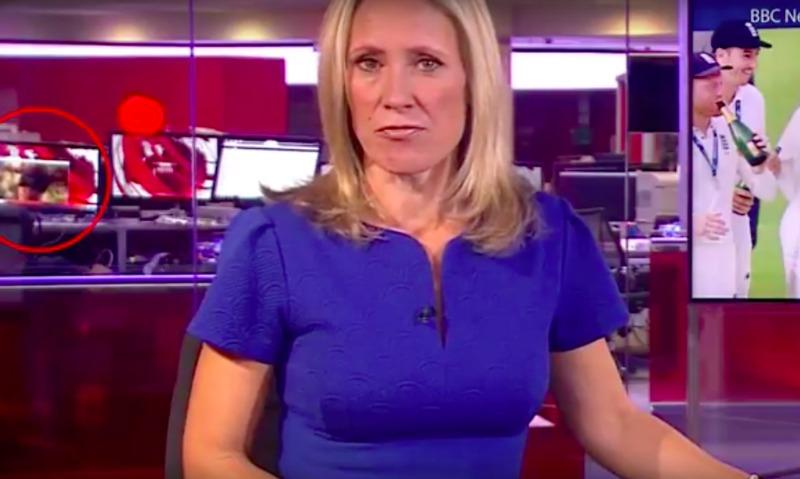 В прямой эфир BBC попал просмотр сотрудником телеканала порнографии