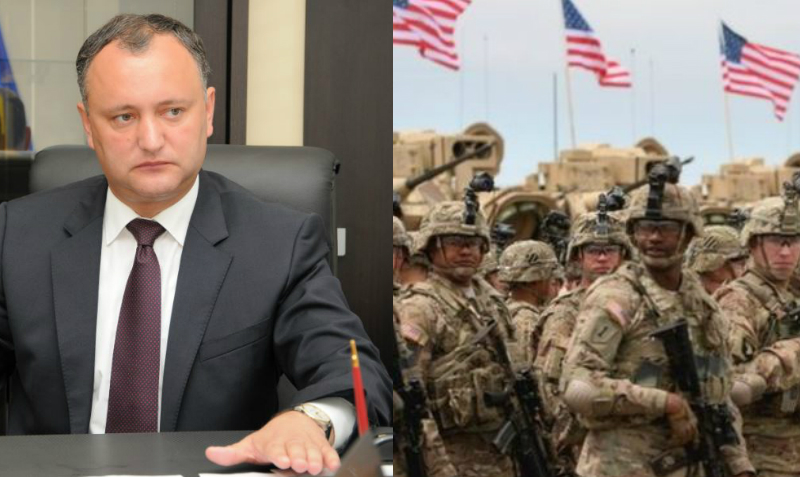 США без санкции президента Молдавии затеяли строительство тренировочной базы